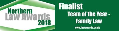 Richard Reed Family Team Shortlisted for Team of the Year at Northern Law Awards 2018