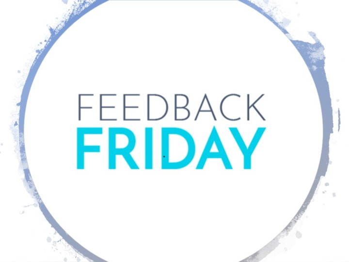 "Feedback Friday: ""..made me feel at ease.."""